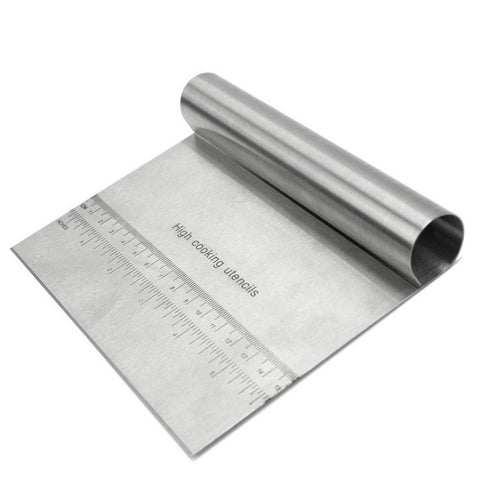 Stainless Steel Dough Pastry Cutter Cake Bread Pasty Scraper Blade Kitchen Tool Pastry Cutters