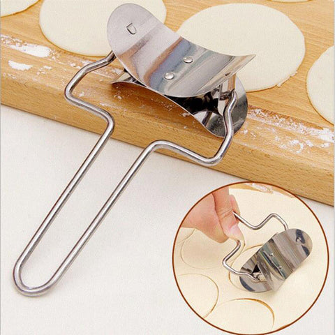 Stainless Steel Dough Press Dumpling Pie Ravioli Mould Maker Pastry Tools Cooking Pastry Tools