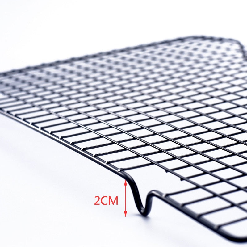 Stainless Steel Nonstick Cooling Rack Cooling Grid Baking Tray Cookies Biscuits Bread Muffins Drying