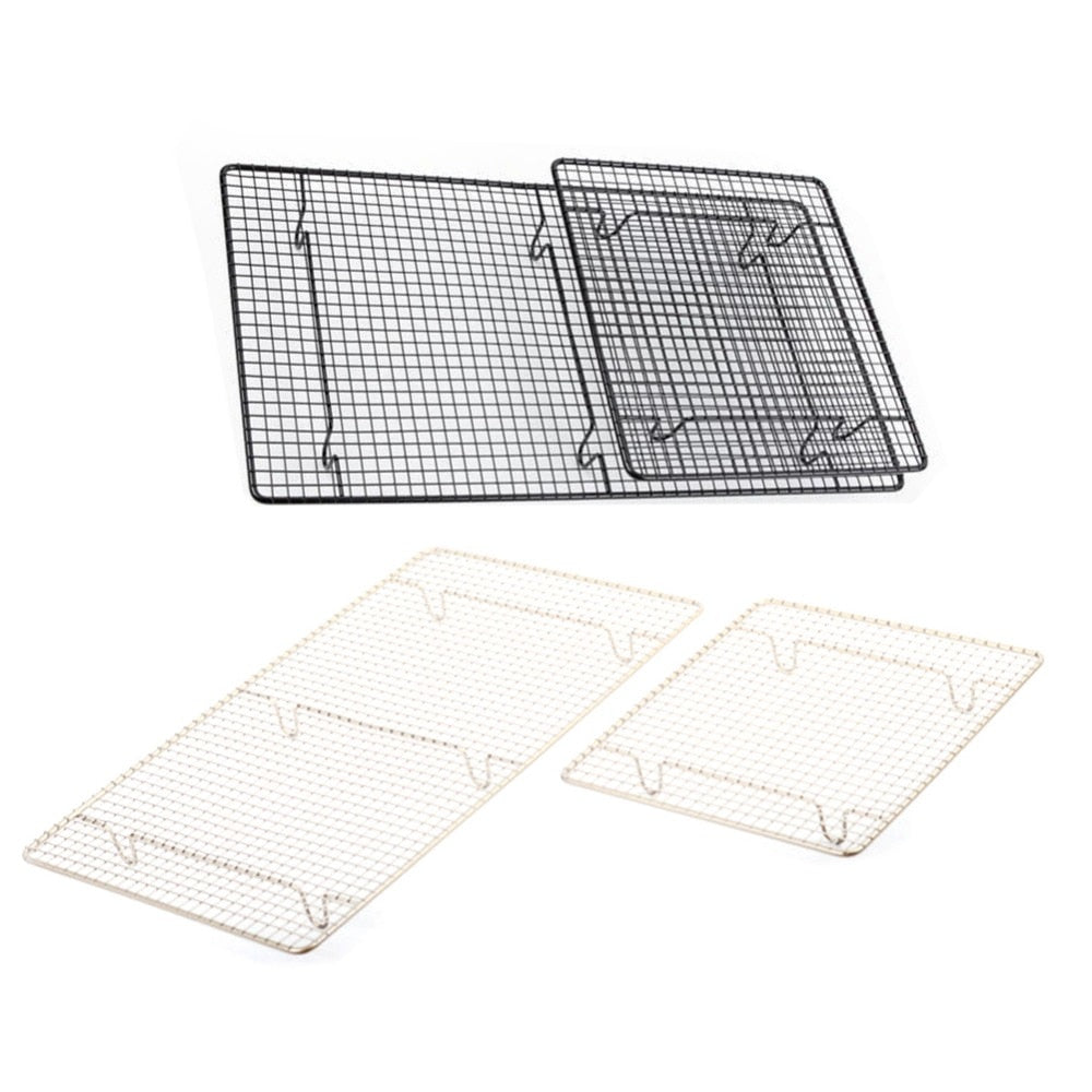 Stainless Steel Nonstick Cooling Rack Cooling Grid Baking Tray For Biscuit/Cookie/Pie/Bread/Cake