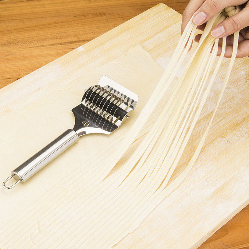 Stainless Steel Noodles-splitters Home Manual Noodle Pasta Cutting Machine Hand-cranked Pasta