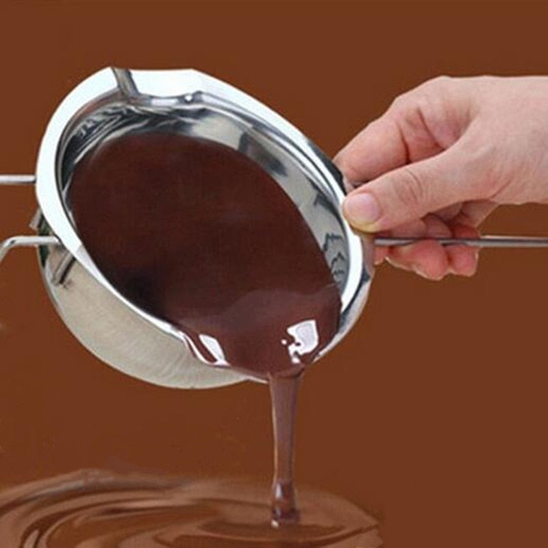 Stainless steel butter milk melting pot chocolate melting tank Pot with Handle Heated Butter