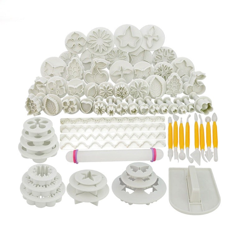 Sugarcraft Cake Decorating Tools Fondant Plunger Cutters Cake Tools Cookie Biscuit Cake Mold