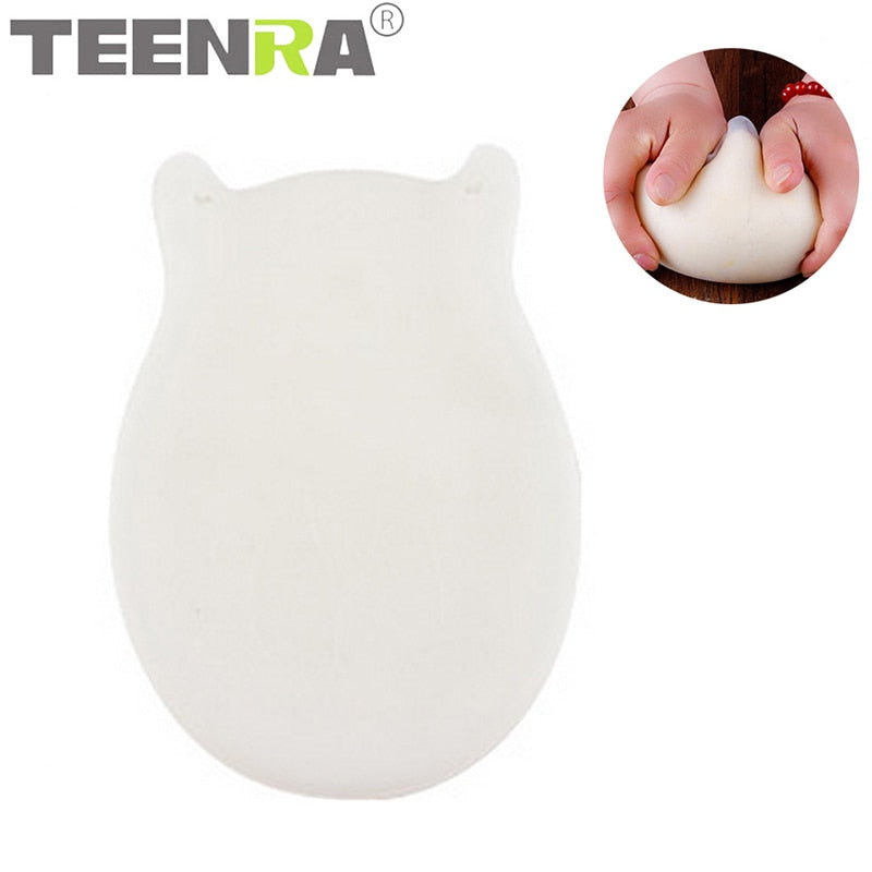 TEENRA 1Pc Soft Silicone Kneading Dough Bag Non-stick Silicone Dough Bag For Bread Flour Mixing