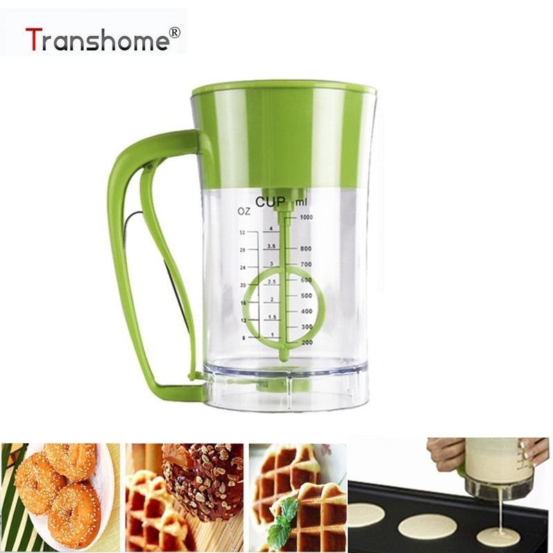 Transhome Fast Automatic Pancake Express Pancake Maker Kitchen Mixing Batter Dispenser Cupcake
