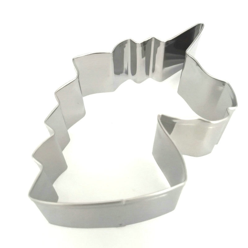Unicorn Head Cookie Cutter Stainless Steel Fondant Cutter Baking Cookie Mold Biscuit Mould