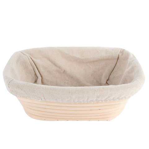 Various Shapes Fermentation Rattan Basket Country Bread Baguette Dough Baskets Baking Dough Basket