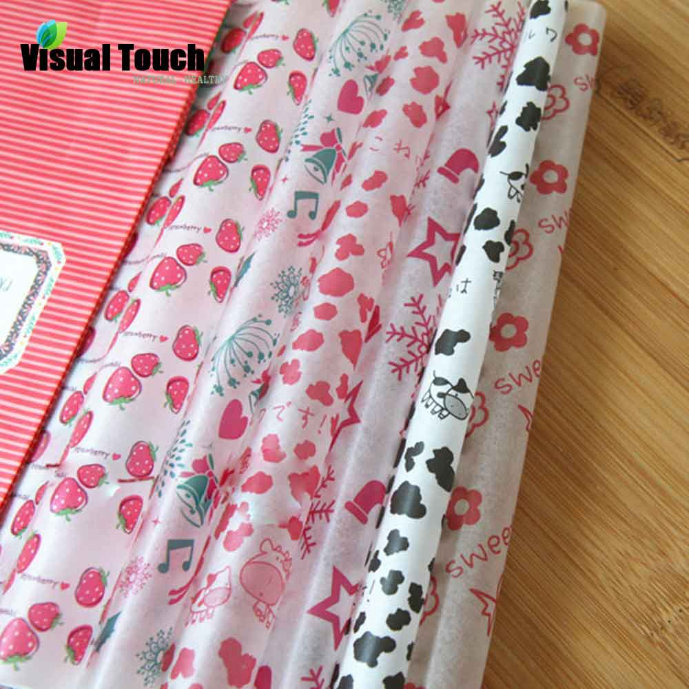 50Pcs/Lot Set Wax Paper Grease Paper Toast Bread Sandwich Burger Food Wrapping Oilpaper BBQ Baking Christmas