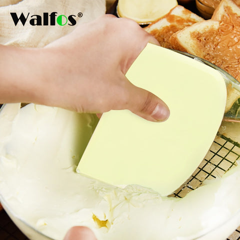 WALFOS Dough scraper cream smooth cake trowel bake pastry tool dough scraper kitchen butter knife