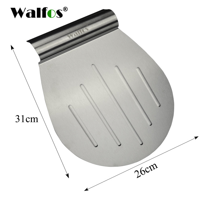 WALFOS food grade Transfer Cake Tray Scoop Cake Moving Plate Bread Pizza Blade Shovel Bakeware