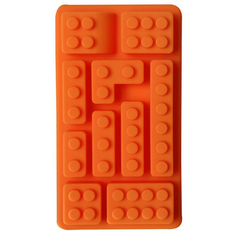Square Block Ice Cube Chocolate Mold Model Ice Grid Mold DIY Decorative Cake Making