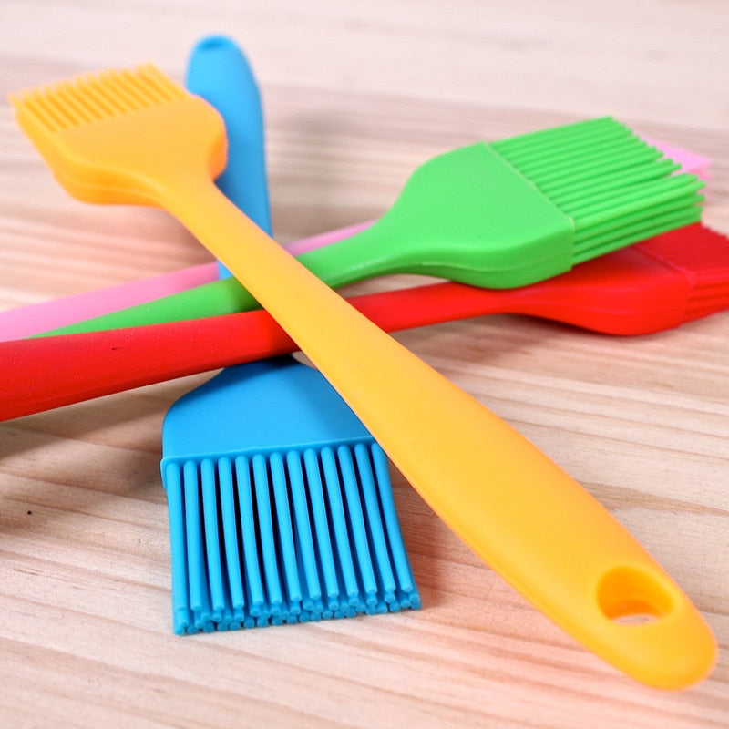 XINAHER Fashion Silicone Baking Bread Cake tools Pastry Oil Cream BBQ Utensil safety Basting Brush