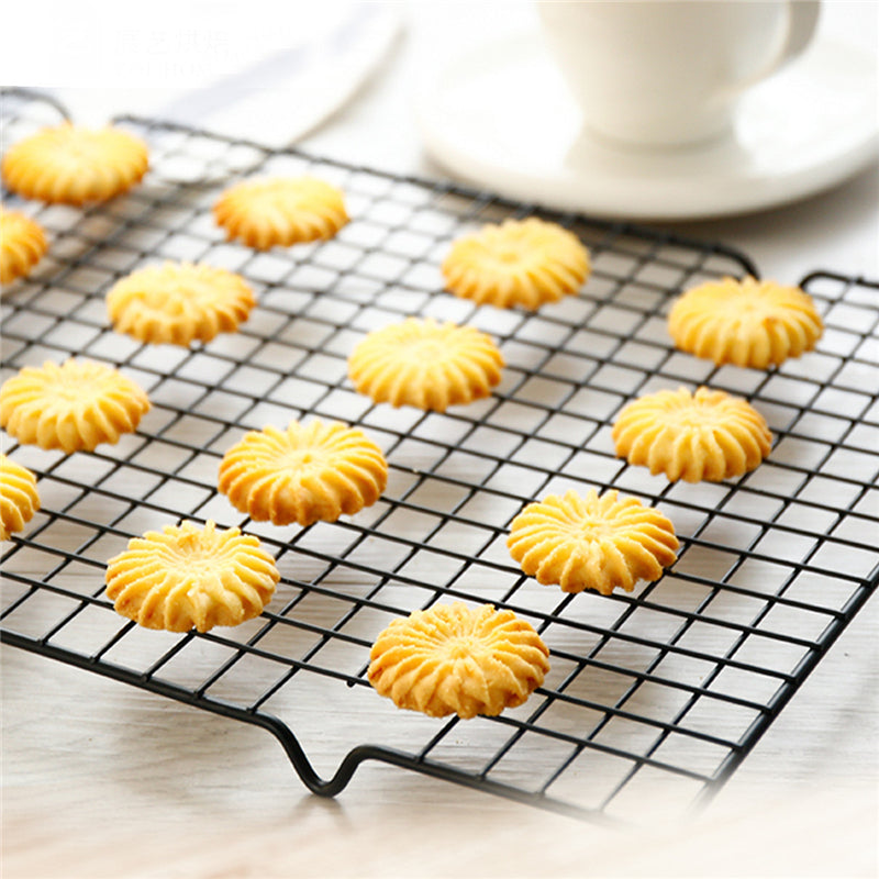 XINAHER Nonstick Carbon Cake Cooling Rack Fits Baking Pan Oven Roasting Cooking Grilling BBQ Dry