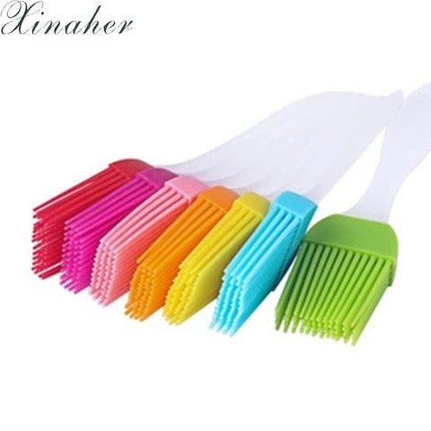 XINAHER Silicone Pastry Brush Baking Bakeware BBQ Cake Pastry Bread Oil Cream Cooking Basting