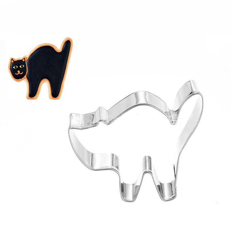 Animal Dogs Cats Kitty Puppy Claw Bone Stainless Steel Cookie Cutter Party Biscuit Mold Fondant Cake