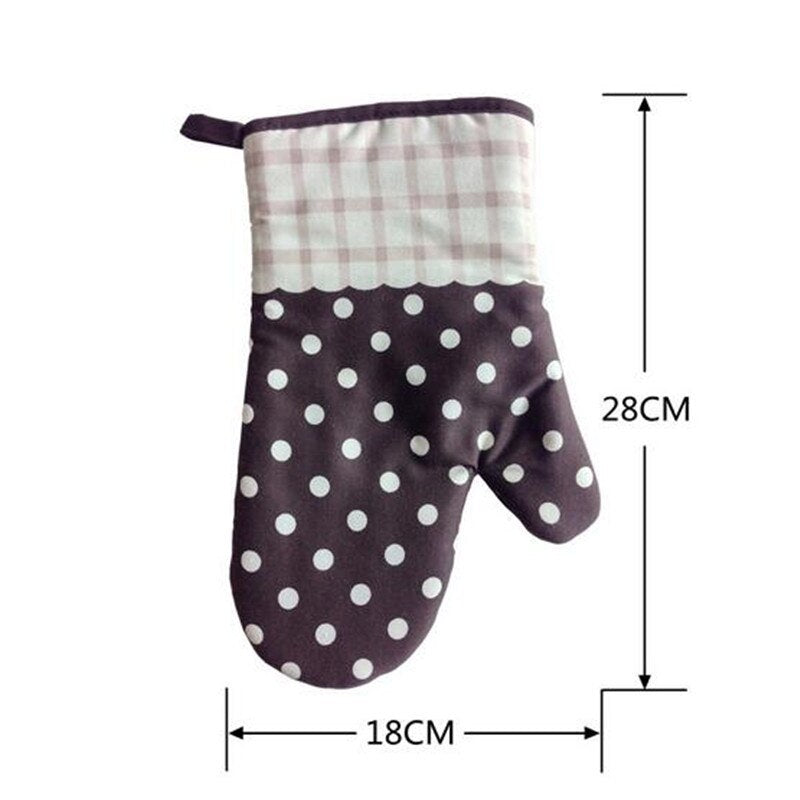 newSimple life 1 Piece Cartoon Kitchen Cooking microwave gloves baking BBQ oven gloves potholders