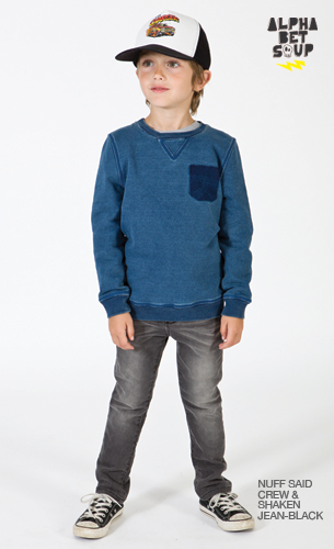 Nuff Said Crew Jumper | Alphabet Soup
