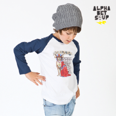 Super Toy Dog Raglan Tee | Alphabet Soup