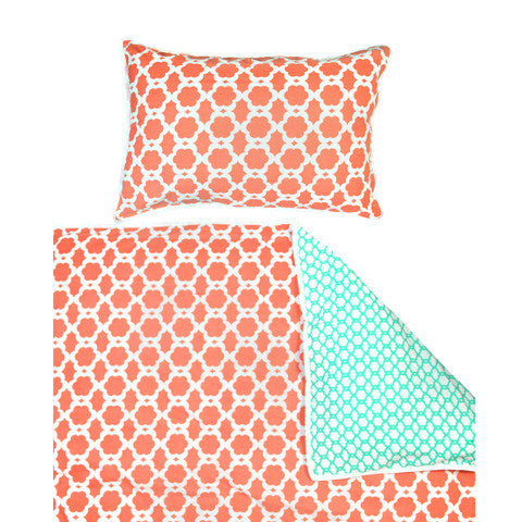 Lulu Single Quilt Cover | Madras Link