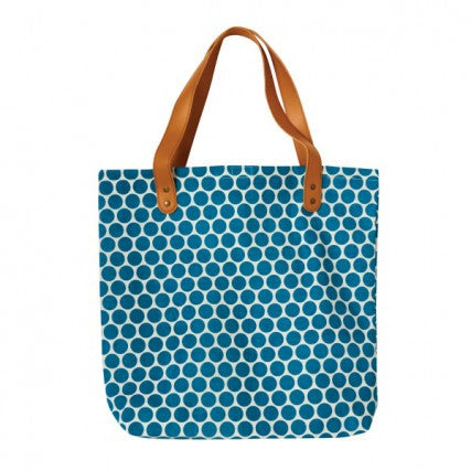 Tote Bag: Green Spot | Urban Nest Design