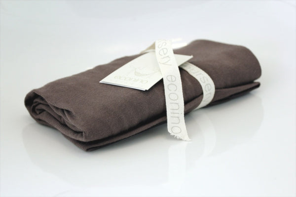 Organic Change Mat & Bassinet Sheet - Chocolate | econino