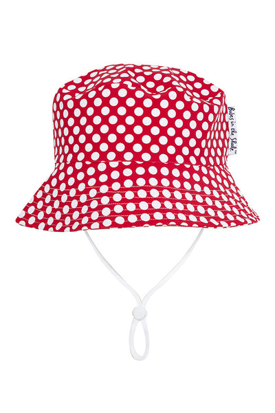 Spotti Dotti Hat - Red | Babes In the Shade