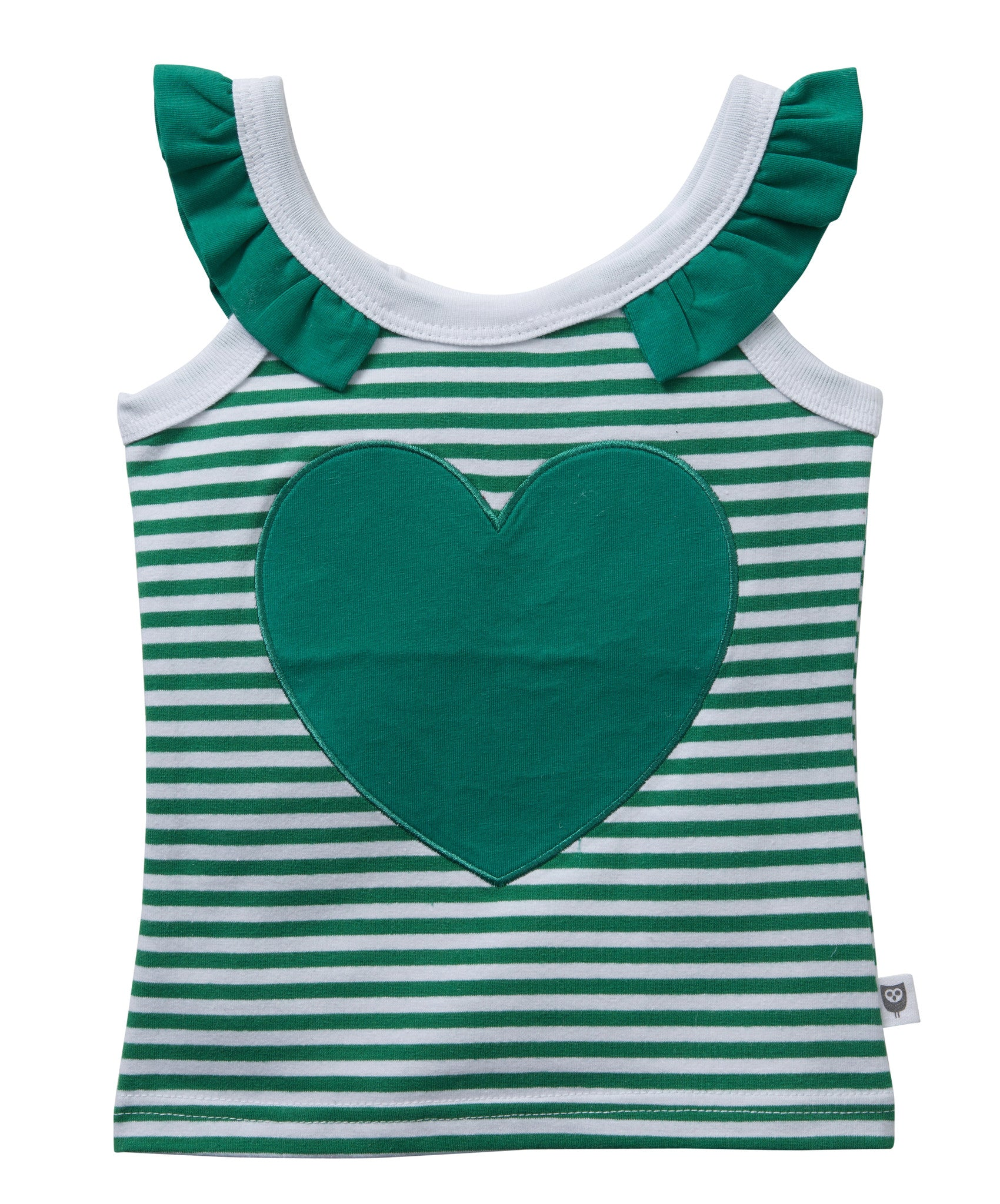 Mini me Frill Top Jade | HootKid