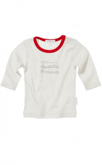 Long Sleeved T'Shirt - Island | Purebaby