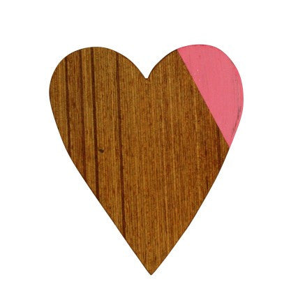 Magnet Pink Heart | Urban Nest Design