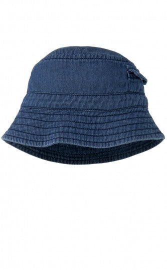 Hat - Chambray Bucket | Purebaby