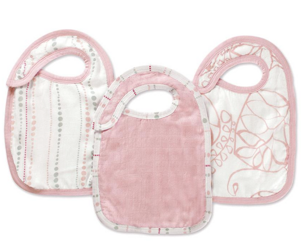 Bamboo Snap Bib 3 pack - Tranquility | Aden + Anais