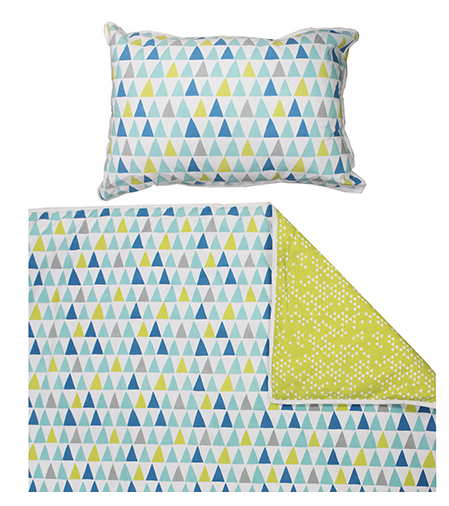 Otto Peach Yellow Single Quilt Cover Set | Madras Link