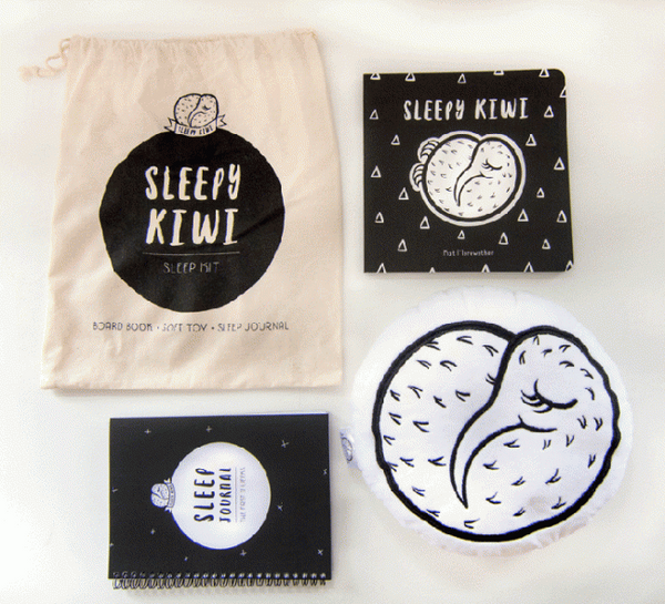 Little + Sleepy Kiwi Gift Set | Little Sleepy