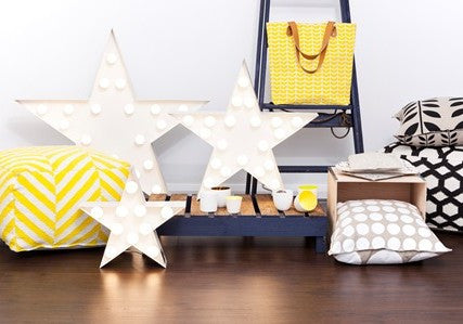 Tote Bag: Yellow Chevron | Urban Nest Design