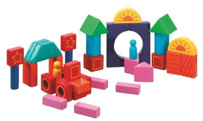 Coloured Building Blocks | Earth Tribe