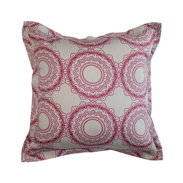 Cushion Cover - Origami Cherry on Grey | One Kind