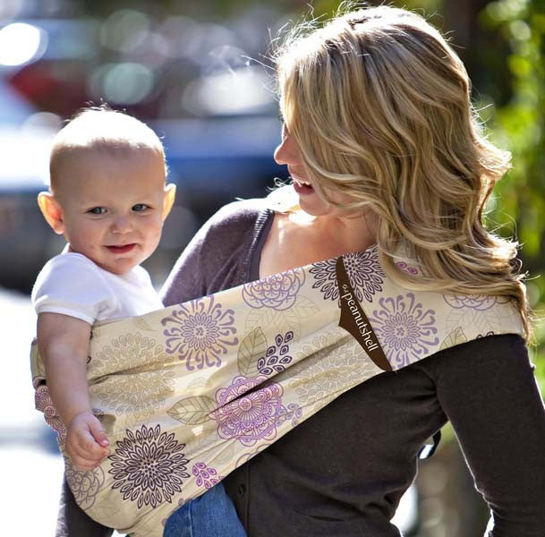Adjustable Peanut Shell Sling - Dahlia | The Peanut Shell
