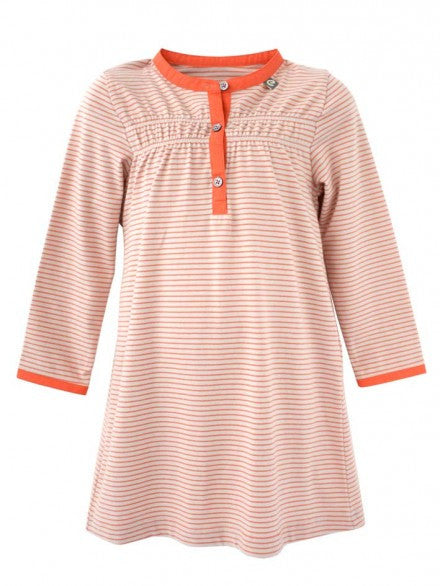 Henley Dress - Mandarin | e3-M