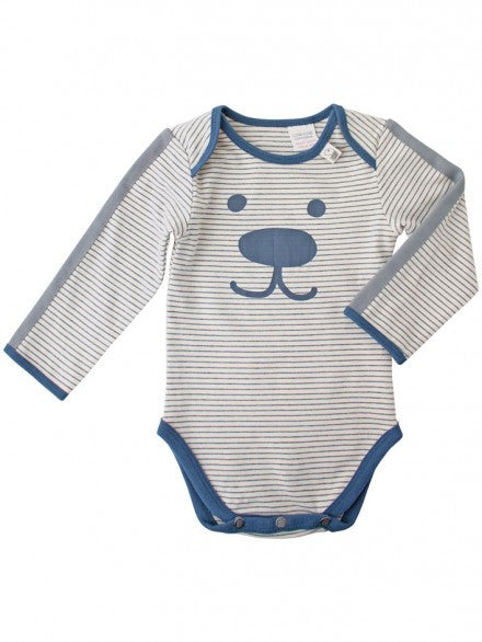 Bodysuit Boy Porcelain/Charcoal | e3-M