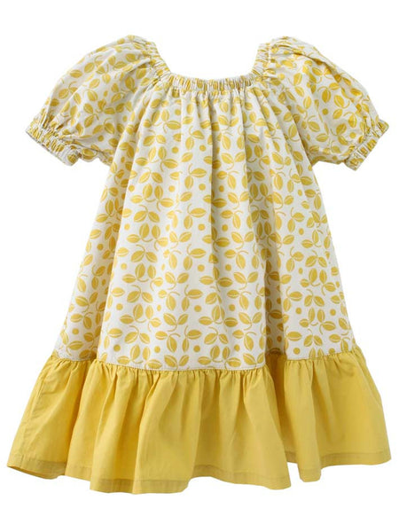 Smock Dress - Tumeric | e3-M