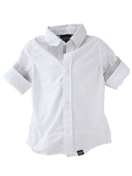 Tailored Shirt - White | e3-M