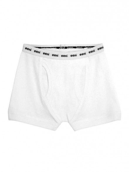 Boy Brief - Pure White | e3-M