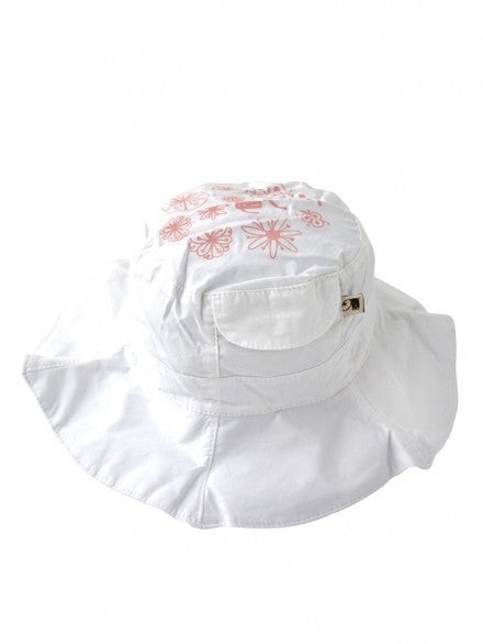 Belle Hat - Pure White | e3-M