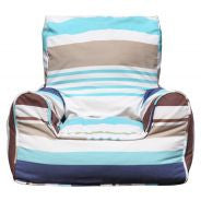 Bean Chairs - Bluebell Stripes | Lelbys