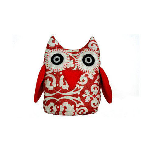 Owls - Red Damask | Lelbys