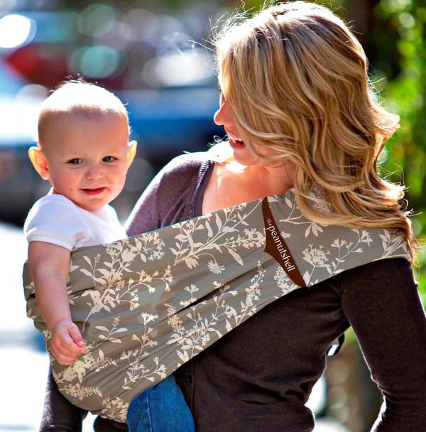 Adjustable Peanut Shell Sling - Whisper | The Peanut Shell