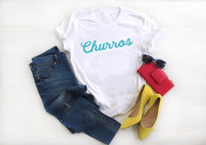 Churros Short-Sleeve Unisex T-Shirt - Next Stop Main Street