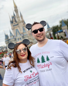 Christmas Minnie's Hot Cocoa Unisex T-Shirt ADULT - Next Stop Main Street