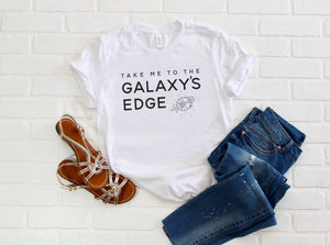 Galaxy's Edge Short-Sleeve Unisex T-Shirt - Next Stop Main Street