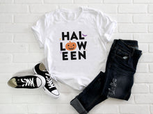 Load image into Gallery viewer, Halloween Pumpkin Short-Sleeve Unisex T-Shirt - Next Stop Main Street